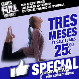 CUOTA SPECIAL 3 MESES