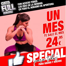 CUOTA SPECIAL 1 MES