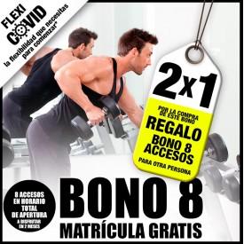 BONO 8 ACCESOS 2X1