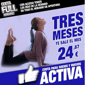 CUOTA ACTIVA 3 MESES