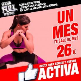 CUOTA ACTIVA 1 MES