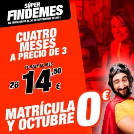 4 MESES A PRECIO DE 3