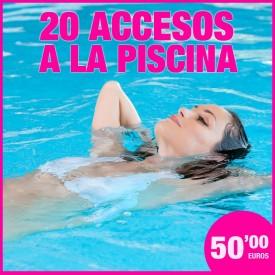 BONO DE 20 ACCESOS A LA...