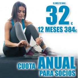 CUOTA ANUAL SOCIOS