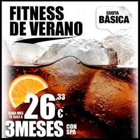 FITNESS DE VERANO 3 MESES